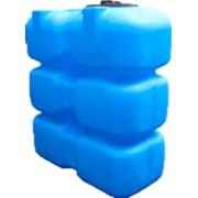 Пластиковый бак для воды 1500 л (КОД Т1500ФК2З) фото