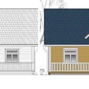 Проекты домов,типовые проекты коттеджей. фото