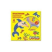 Пластилин 4 цвета Каляка-Маляка шариковый крупнозернистый 12 г 3+ фото