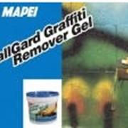 Очистители граффити ВоллГард Граффити Ремовер Гель - это моющее средство в виде геля для чистки повреждённых надписями поверхностей. По виду - жёлтый жидкий гель. фото