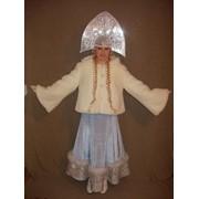 Платье и шубка для Снегурочки фото