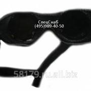 Очки защитные кожаные на веревке фото