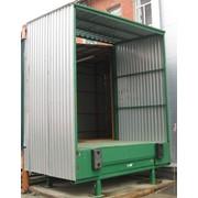 STL Перегрузочный тамбур для склада