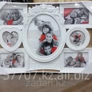 Фоторамка Family на 7 фотографии, мультирамка фото