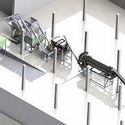 Завод по производству строительных смесей фото