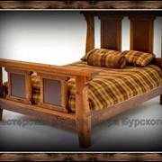 Деревянные кровати под старину назаказ от производителя на заказ. фото