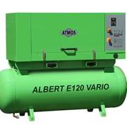 Винтовой компрессор Atmos Albert E120 Vario (1,6 куб.м/мин) фото