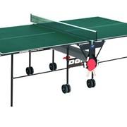 Теннисный стол Donic Indoor Roller 400 зеленый фото