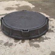 Люк полимерный канализационный, 6 тн фото