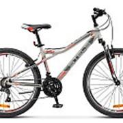 "Велосипед Stels Navigator-510 V 26"", 16"", серый/красный, арт. V030 фото"