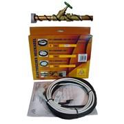 Нагревательный кабель для обогрева труб фото