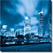 Модульная картина Ночной город_2, Неизвестен фото