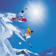 Сноуборд и горнолыжные курорты фото