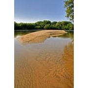 Речной песок фото