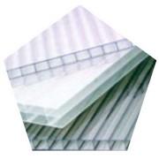 Сотовый поликарбонат 4мм прозрачный фото