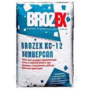 Brozex KC-12 Усиленный, Смесь для укладки плитки и керамогранита. 25кг. фото