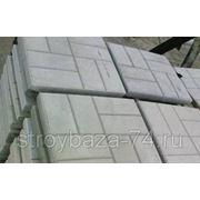 Тротуарная плитка Квадрат серый 400х400мм