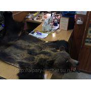 Реставрация пересушенных, ломких, старых меховых напольных и настенных ковров-шкур животных, замена основы, замена подкладки фото