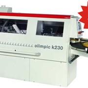Автоматический кромкооблицовочный станок Olimpic k 230 фото