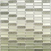 Стеклянная мозаика Silver Light 300*300 фото