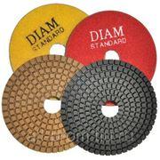 Алмазные гибкие шлифовальные круги DIAM Wet-Standart (для работы с водяным охлаждением) фото