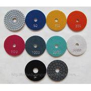 """Гибкие полировальные круги (""""черепашки"""") диаметром 80 мм. (21 шт.) фото"""