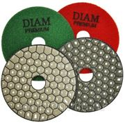 Алмазные гибкие шлифовальные круги DIAM Dry-Premium (для работы без водяного охлаждения) фото