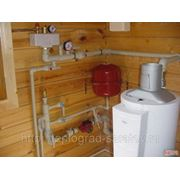 Монтаж системы отопления,водоснабжения и канализации фото