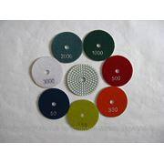"""Гибкие полировальные круги (""""черепашки"""") диаметром 80 мм. (20 шт.) фото"""