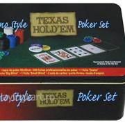 Покерный набор на 200 фишек без номинала ГД1 фото
