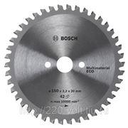 Круг пильный твердосплавный Bosch Multi eco 254 x 80 x 30 фото