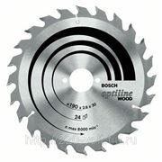 Круг пильный твердосплавный Bosch Optiline wood 190 x 48 x 30 фото