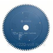 Круг пильный твердосплавный Bosch Best for laminate 254 x 84 x 30 фото