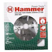 Круг пильный твердосплавный Hammer Csb al 235мм*100*30мм фото