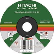 Круг отрезной Hitachi А24 115 х 1,2 х 22 фото