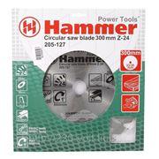 Круг пильный твердосплавный Hammer Csb wd 300мм*24*32/30мм фото