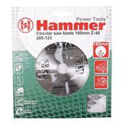 Круг пильный твердосплавный Hammer Csb wd 180мм*40*20/16мм фото