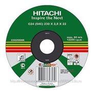 Диск HITACHI отрезной 230х2х22мм по металлу КХ230*2 фото