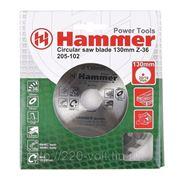 Круг пильный твердосплавный Hammer Csb wd 130мм*36*20/16мм фото