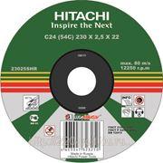 Круг отрезной Hitachi А24 180 х 1,6 х 22 фото
