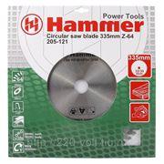 Круг пильный твердосплавный Hammer Csb wd 335мм*64*32/30мм фото