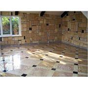Облицовка мраморной и гранитной плиткой стен,потолков и пола. фото