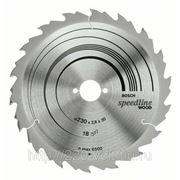 Круг пильный твердосплавный Bosch Speedline wood 230 x 18 x 30 фото