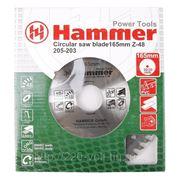 Круг пильный твердосплавный Hammer Csb pl 165мм*48*30/20мм фото
