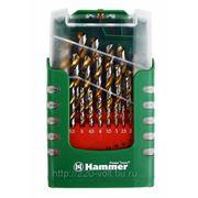 Набор сверл Hammer Dr set no8 (29pcs) 1,0-13mm фото