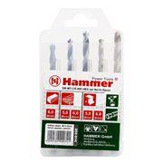 Набор сверл Hammer Dr set no14 hex (5pcs) 4-8mm фото