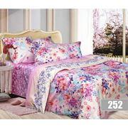 Комплект постельного белья МАКО-САТИН (дизайны 252, 253, 82, 83, 85) фото