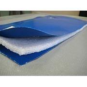 Тент для бетона трехслойный термоизолирующий ПВХ+изолон8мм+ПВХ 650 г\м усиленный фото
