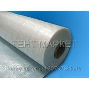 Тентовая ткань POLYTARP 140, рулон 2 x 50 м (тарпаулин 140 гр/м2, полупрозрачный) фото