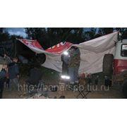Баннер ПВХ б/у 3х6 метра фото